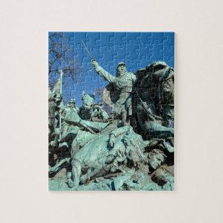 Civil War Statue in Washington DC Jigsaw Puzzle