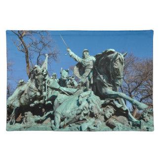 Civil War Statue in Washington DC Placemat