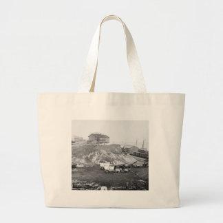 Civil War Supply Train: 1865 Jumbo Tote Bag