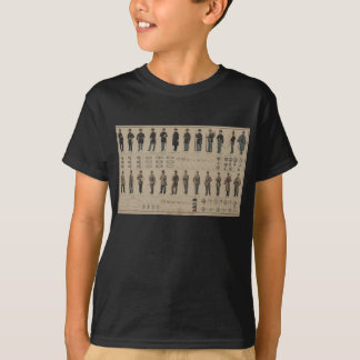 Civil War Union and Confederate Soldiers Uniforms T-Shirt