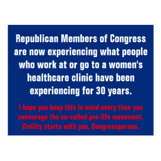 Civility Starts with the GOP Postcard