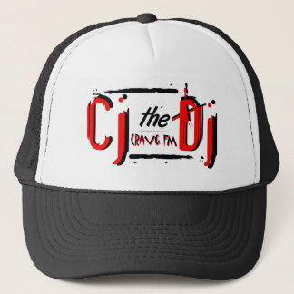 CJ the DJ Red Trucker Hat