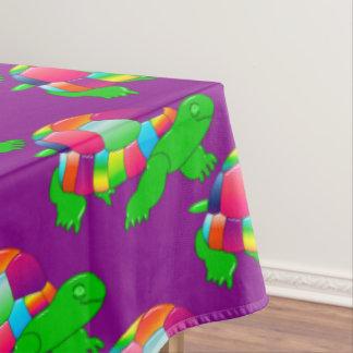 CKC Lil Glass Turtle,Purple-60x104 TABLECLOTH