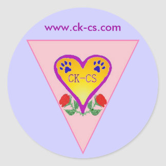 ckcs design logo KMF round sticker