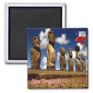 CL - Chile - Isla De Pascua - Ahu Tongariki Magnet