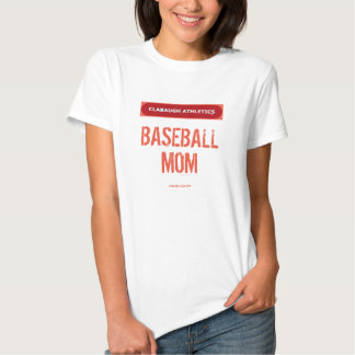 Clabaugh Athletics BASEBALL MOM T-shirts