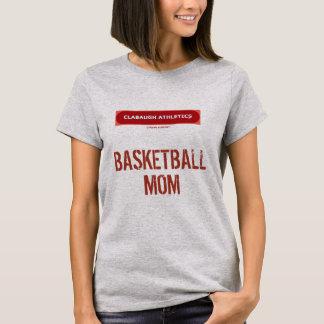 Clabaugh Athletics BASKETBALL MOM T-Shirt