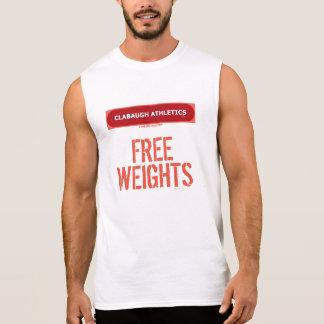 Clabaugh Athletics FREE WEIGHTS Sleeveless Shirt