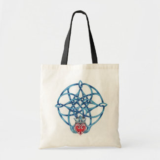 Claddagh Celtic Knot Tote Budget Tote Bag