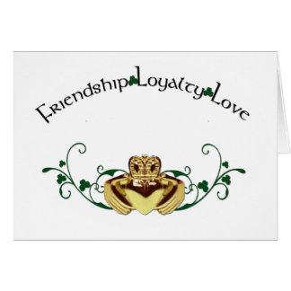 Claddagh / Claddaugh Card