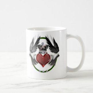 claddagh heart wedding keepsake coffee mug