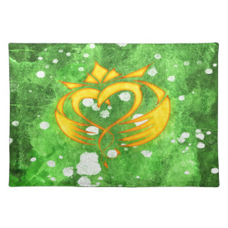 Claddagh Irish Celtic Splatter Placemat