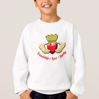 Claddagh Irish Symbol Sweatshirt