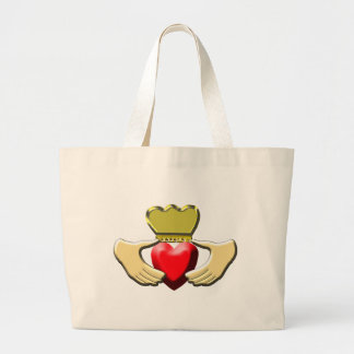 Claddagh Large Tote Bag
