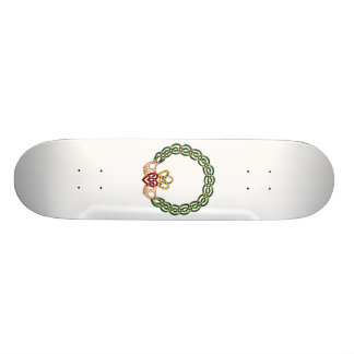 Claddagh Custom Skateboard