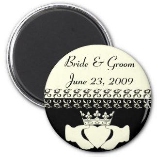 Claddagh Wedding Invitation Set Magnet