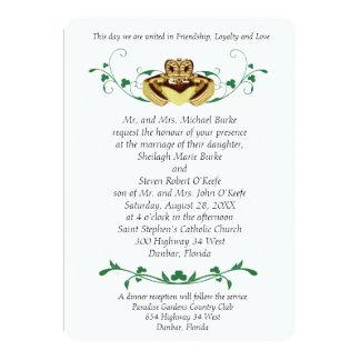 Claddaugh / Claddagh Wedding Invitations
