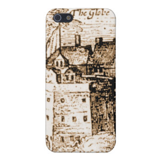 Claes Jansz Visscher Globe Theatre Engraving iPhone 5 Cover