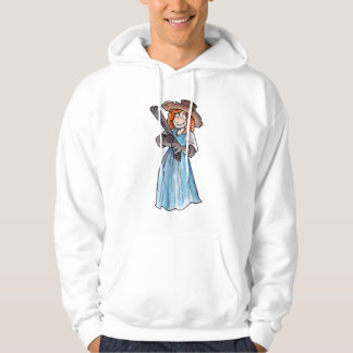 Claim Jumper with Gun Hooded Pullovers
