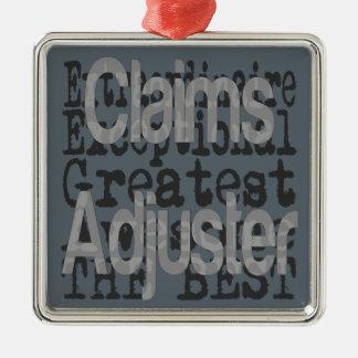 Claims Adjuster Extraordinaire Metal Ornament