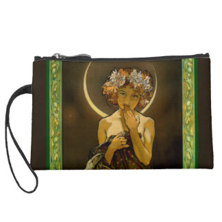 Clair de Lune Wristlet Purse