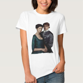 Claire And Jamie Damask Portrait Shirts