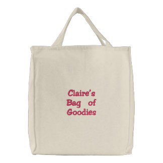 Claire's Bag of Goodies Tote Bag