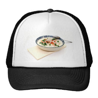 Clam Chowder With Paprika Mesh Hat