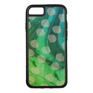 Clam Seashells and Ocean Waves Phone Case