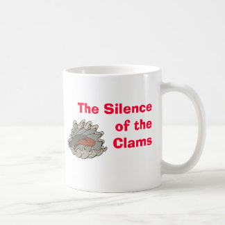 Clam, The Silence of the Clams Coffee Mug