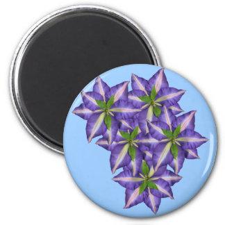 Clamatis 5 6 cm round magnet