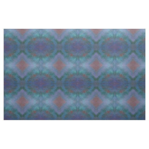 Clamourous Craft | Dark Ombre Blue Purple Green Fabric