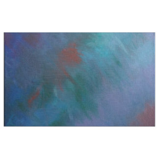 Clamourous Green Blue Purple Jewel Tone Tie-Dyed Fabric