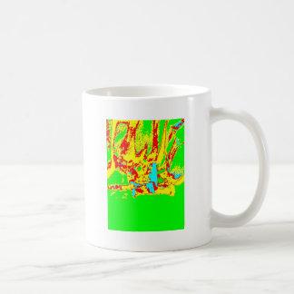 Clamp Brass F Coffee Mug