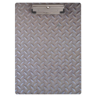 Clamping board metal optics clipboard