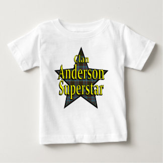 Clan Anderson Superstar Baby T-Shirt