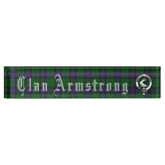 Clan Armstrong Desk Nameplate