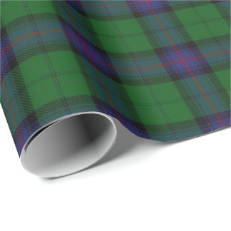 Clan Armstrong Scottish Tartan Wrapping Paper