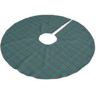 Clan Bailey Tartan Brushed Polyester Tree Skirt