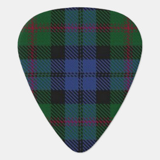 Clan Baird Sounds of Scotland Tartan Guitar Pick