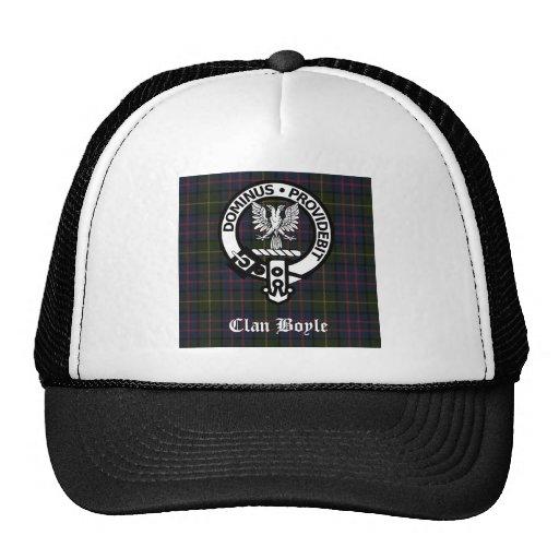Clan Boyle Crest & Tartan Mesh Hat