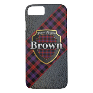 Clan Brown Scottish Celebration iPhone 8/7 Case