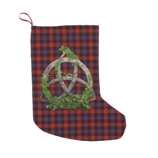 Clan Brown Tartan Small Christmas Stocking