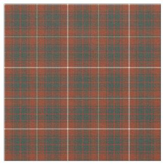 Clan Bruce Weathered Tartan Fabric