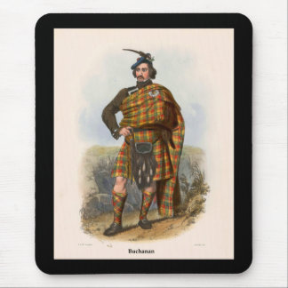 Clan Buchanan Mouse Pad
