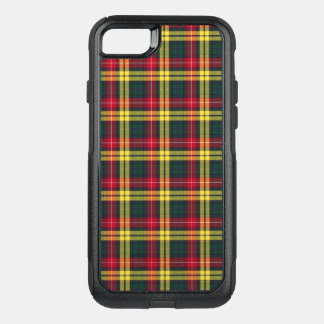 Clan Buchanan Tartan Red, Yellow and Green Plaid OtterBox Commuter iPhone 8/7 Case