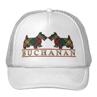 Clan Buchanan Tartan Scottie Dogs Cap