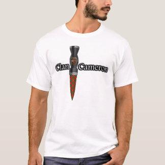 Clan Cameron Scottish Sgian Dubh T-Shirt