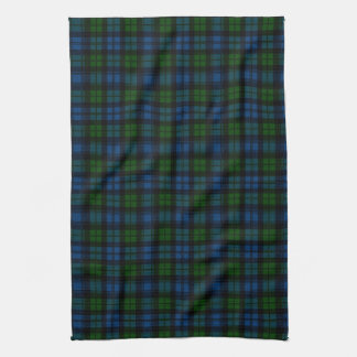 Clan Campbell Military Tartan Kitchen Towel