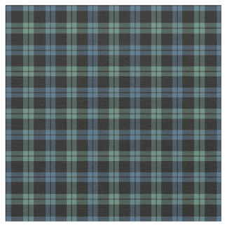 Clan Campbell of Loch Awe Ancient Tartan Fabric